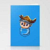 warcraft Stationery Cards featuring Viking Pepe! by SlothgirlArt
