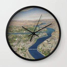 Tsceminicum Flight Wall Clock