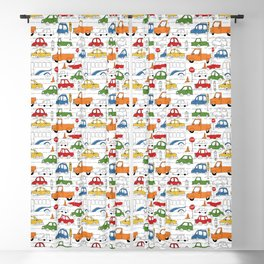 Busy Traffic Pattern Blackout Curtain