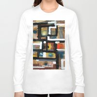 dancing Long Sleeve T-shirts featuring DANCING by JANUARY FROST