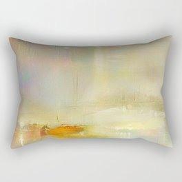 Mist on the Thames Rectangular Pillow