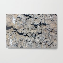 Montauk Rocks Metal Print
