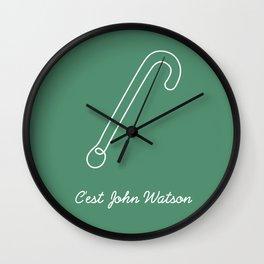 This is John Watson Wall Clock