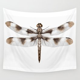 Twelve-Spotted Skimmer Dragonfly Wall Tapestry