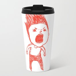 Angry Guy Travel Mug