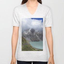Montañas puras Unisex V-Neck