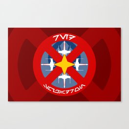 Red Squadron (Alliance) Canvas Print
