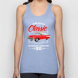 Birthday Shirt I'm not Old I'm a Classic Living Legend 1935 Unisex Tank Top