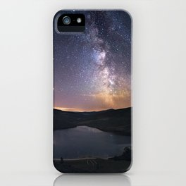 (RR 294) Milky Way above Lough Tay - Ire iPhone Case
