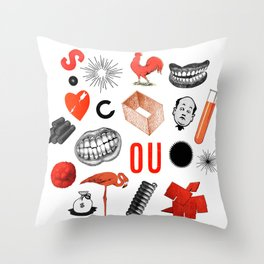 Archive Objects I Throw Pillow