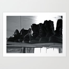 These Boots Were Made For Art Print