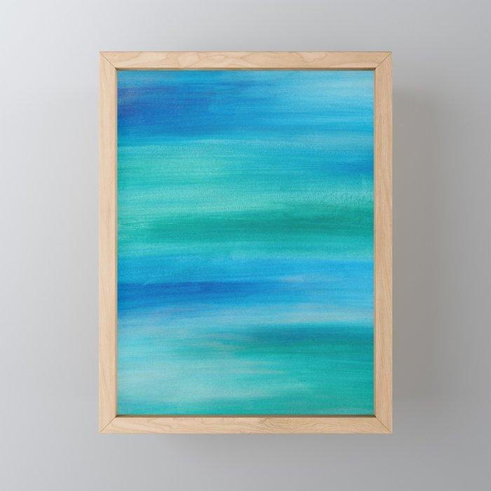 Ocean Series 1 Framed Mini Art Print