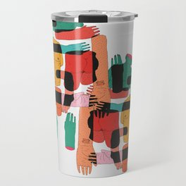 Color Body Patrs Travel Mug