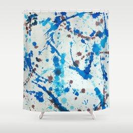 meeting Jackson Pollock Shower Curtain