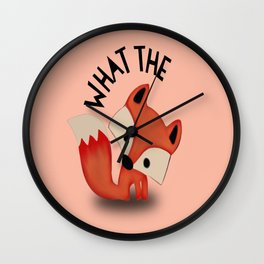 What the FOX?.... Wall Clock