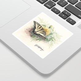 Swallowtail Study Sticker