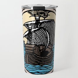 Run away to sea Travel Mug