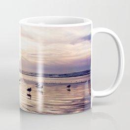 dusk on the beach Coffee Mug