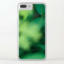 Green Green Green 800 Clear iPhone Case