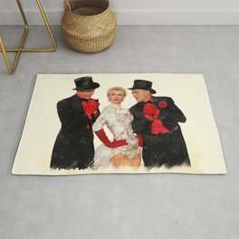 Mandy (White Christmas) Rug