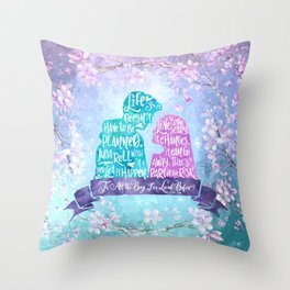 Life and Love According to Covinsky. To All the Boys I've Loved Before Throw Pillow