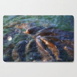 Fishy Gossip Cutting Board