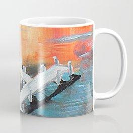 Sunets and Sail Boats Coffee Mug