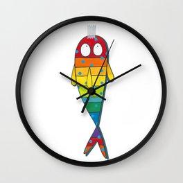 April Fish Wall Clock