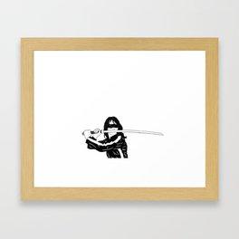 The Bride // Kill Bill Framed Art Print