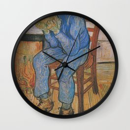 Vincent van Gogh - Sorrowing Old Man (At Eternity's Gate) Wall Clock