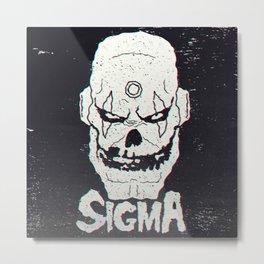 SIGMA, MAVERICKS FIEND CLUB Metal Print