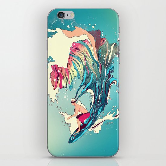 Blind Surfer iPhone & iPod Skin