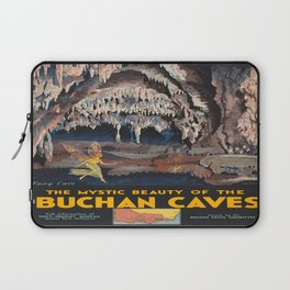 Vintage poster - Buchnan Caves Laptop Sleeve