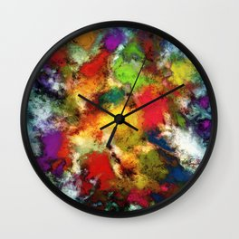 A shouty place Wall Clock