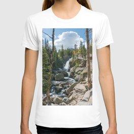 Alberta Falls Rocky Mountains Colorado, United States T-shirt