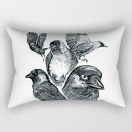 Dead all over the dar Rectangular Pillow