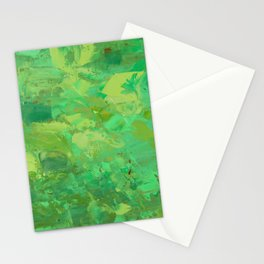 Treetops and Yellow Stationery Cards