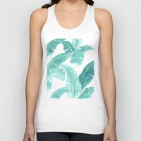 palms Tank Tops featuring Palms by Christine Khoury Illustrations