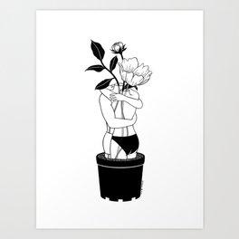 Grow Together Art Print