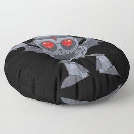 Metalhead - Heavy Metal Robot Devil Floor Pillow