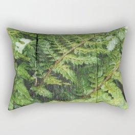 Fern Fronds Rectangular Pillow