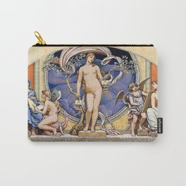 Rome Representative Of The Arts - Elihu Vedder Carry-All Pouch
