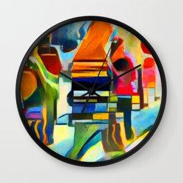 City Life I Wall Clock