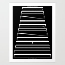 San Francisco(s): Hills & Stairs (May 5, 2017) Art Print