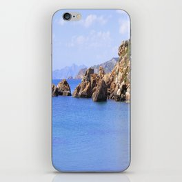 BLUE BLUE SEAS iPhone Skin