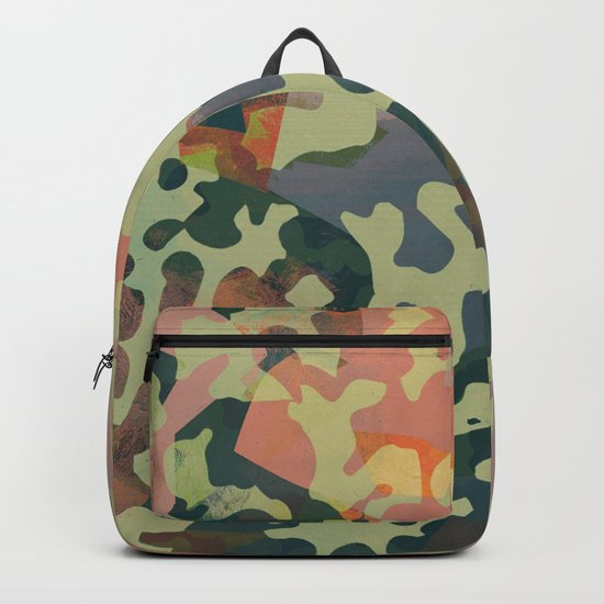Camouflage XXXXV Backpack