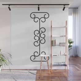 """Letter """"I"""" in beautiful design Fashion Modern Style Wall Mural"""