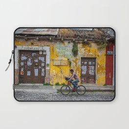 Antigua by bicycle Laptop Sleeve