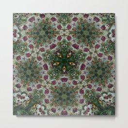 Multifacetted Kaleidoscope Metal Print