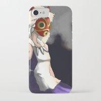 mononoke iPhone & iPod Cases featuring Mononoke by Oda Oda